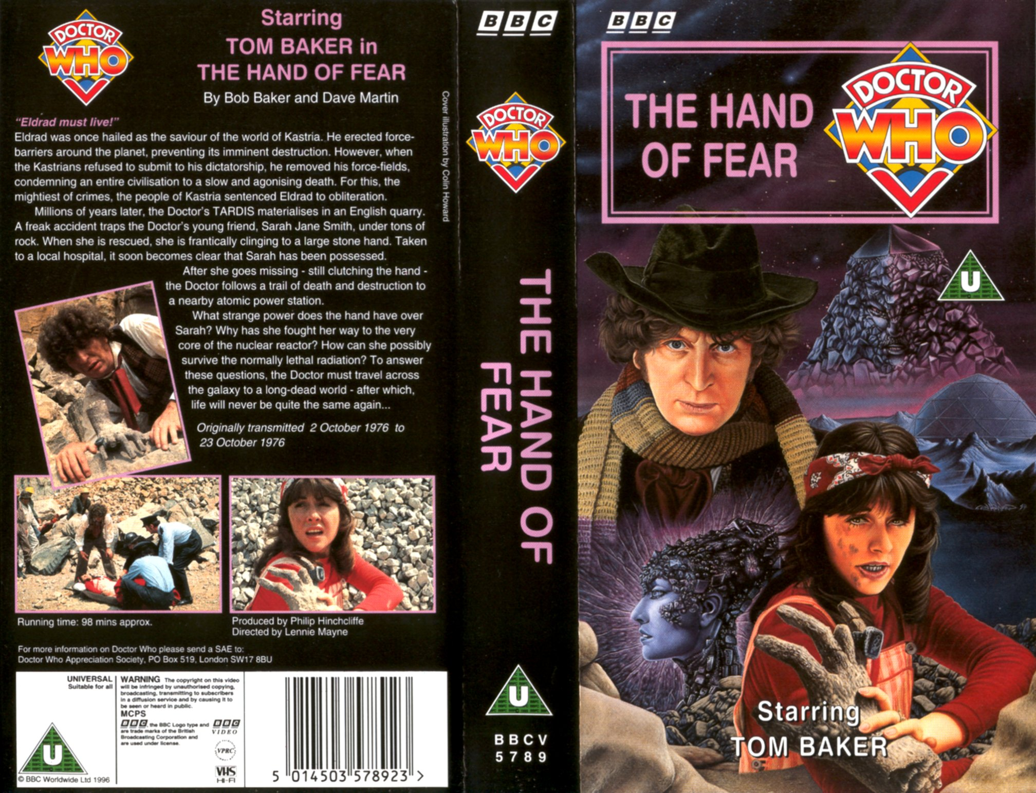 The Hand Of Fear VHS