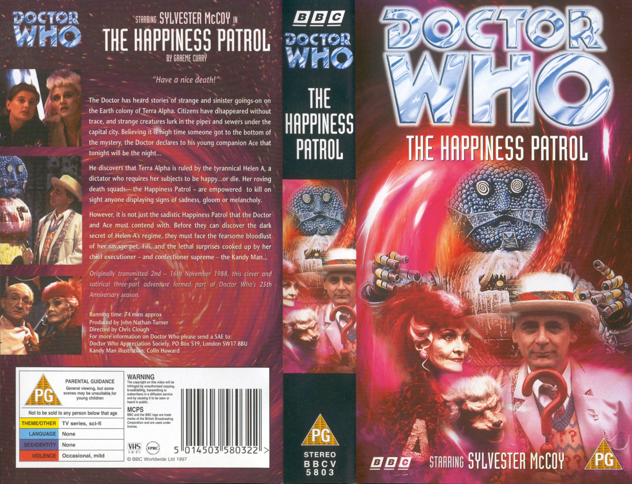 The Happiness Patrol VHS