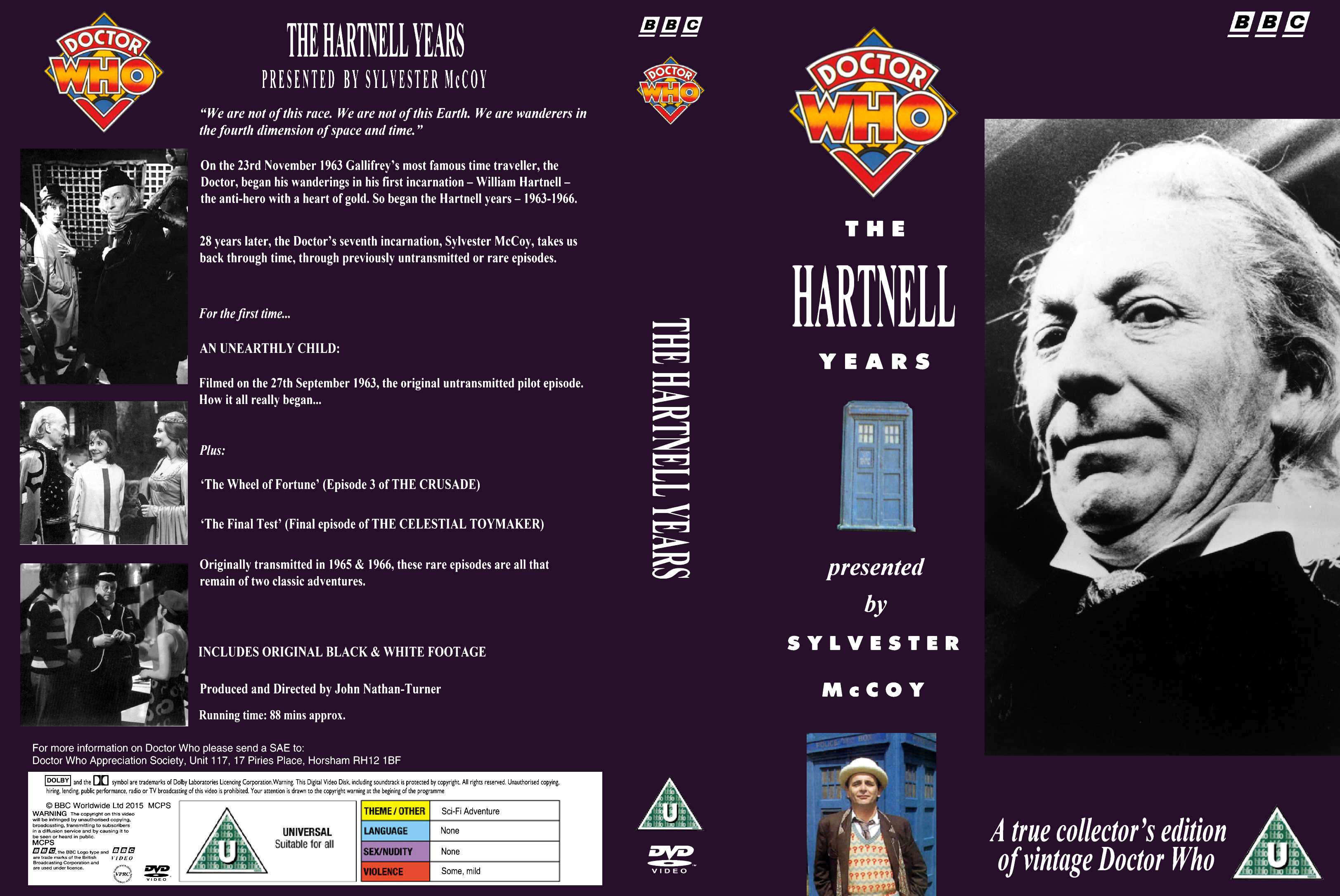 The Hartnell Years VHS