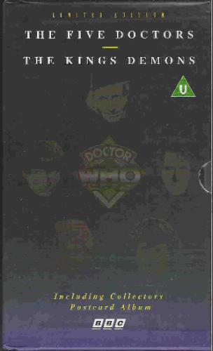 The Kings Demons and The Five Doctors Special Edition VHS