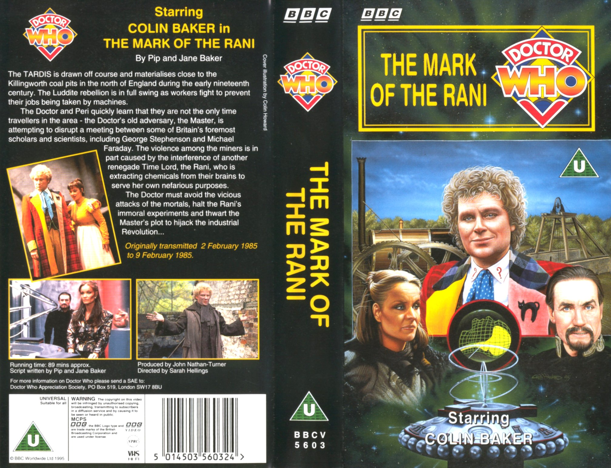 The Mark of the Rani VHS