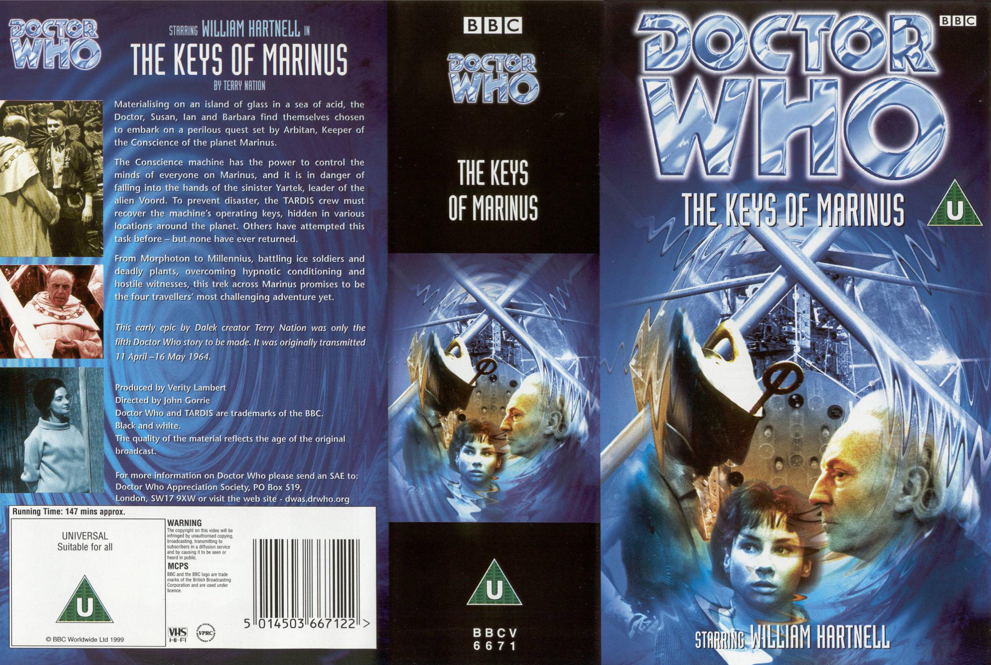 The Keys Of Marinus VHS