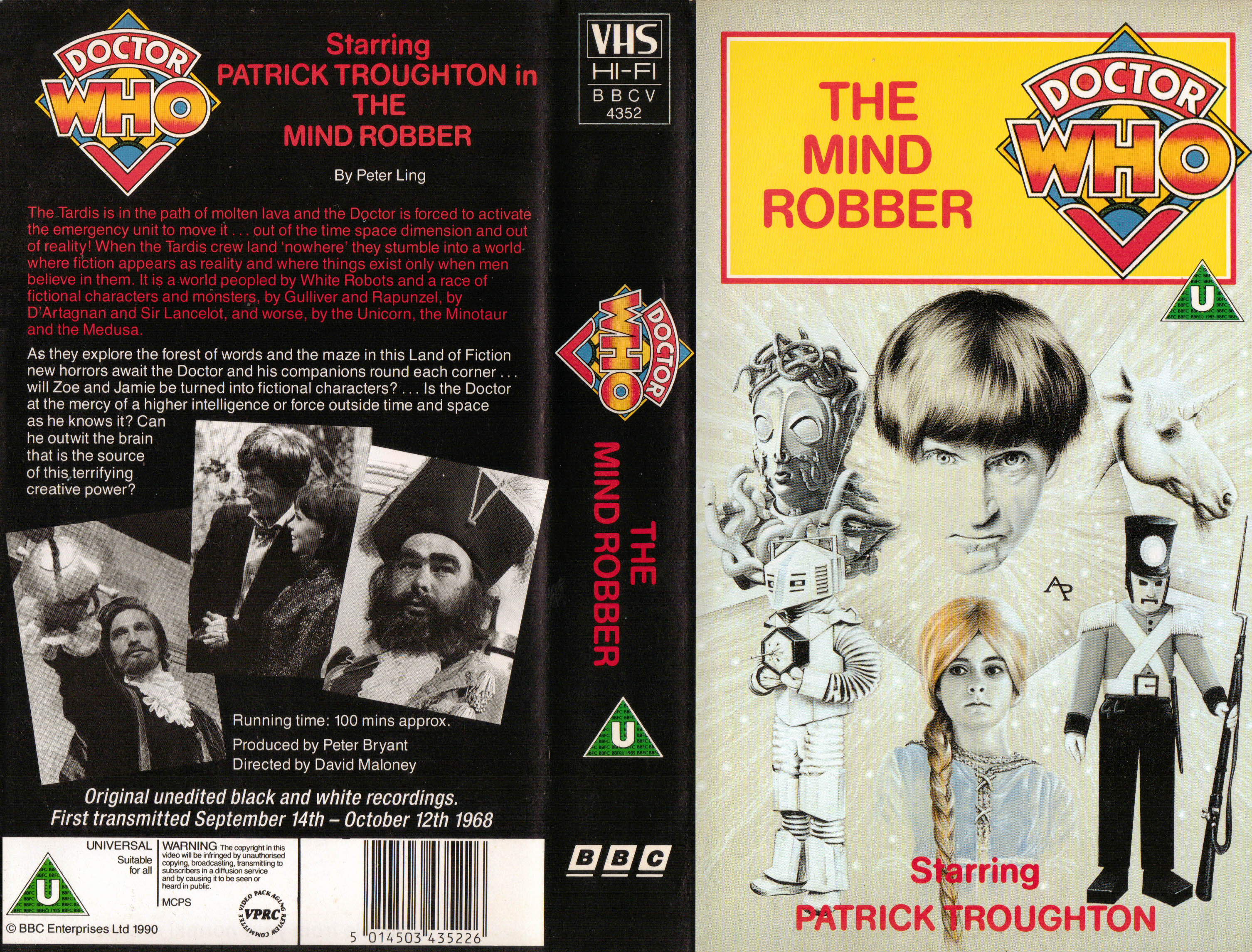 The Mind Robber VHS