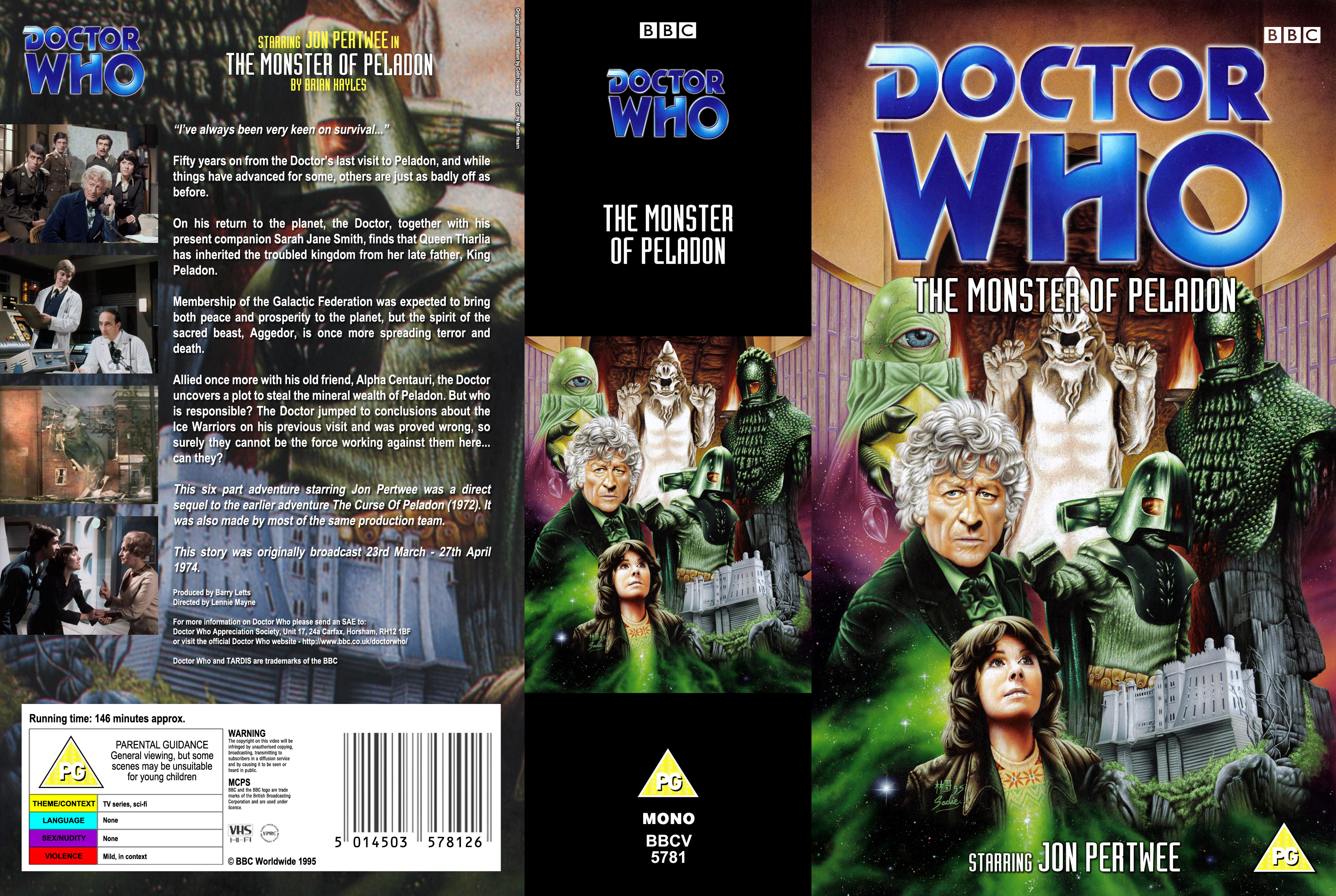 The The Monster of Peladon VHS
