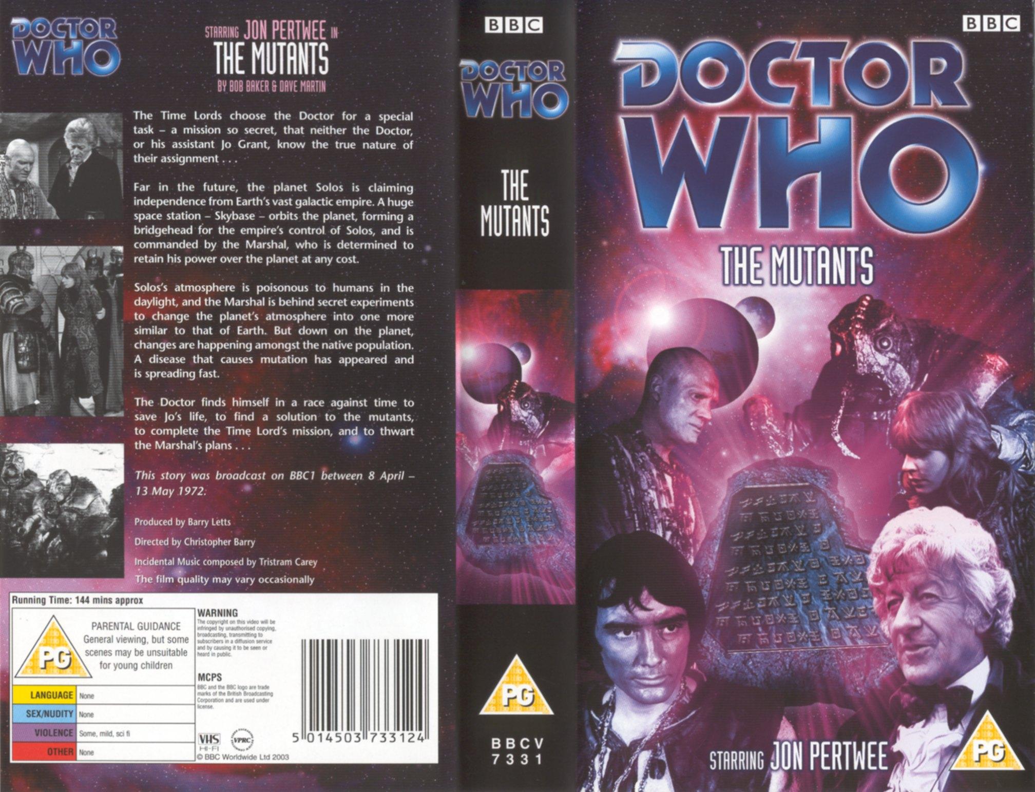 The Mutants VHS