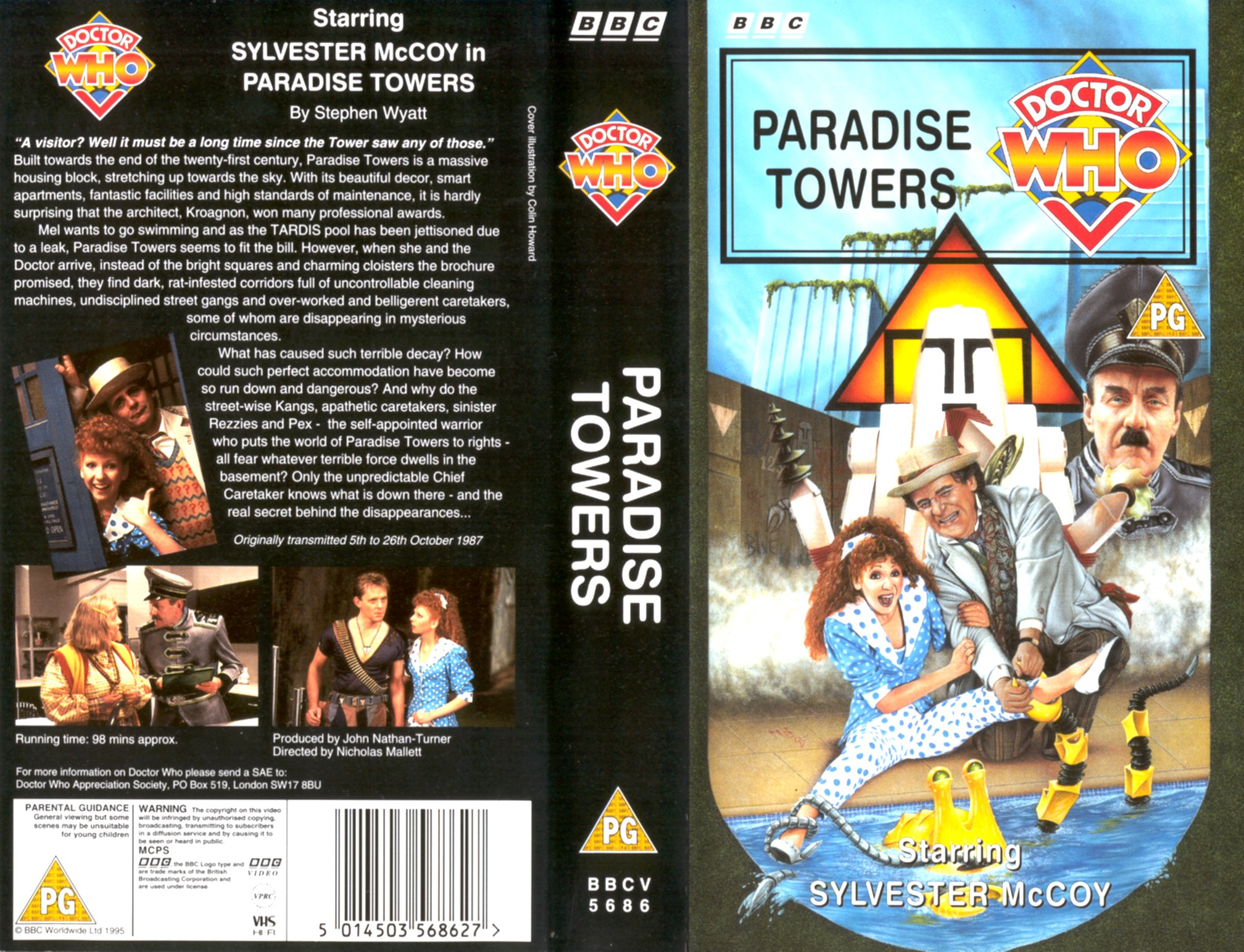 Paradise Towers VHS