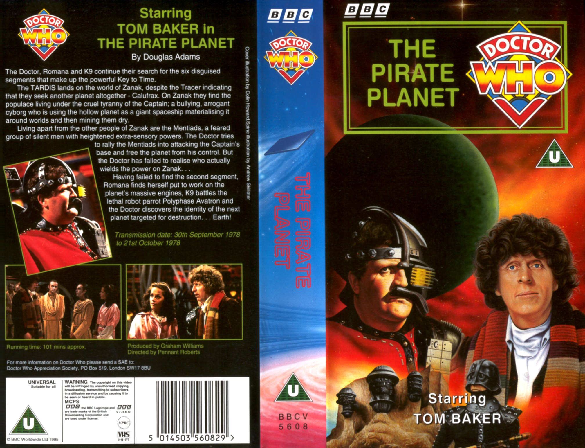 The Pirate Planet VHS