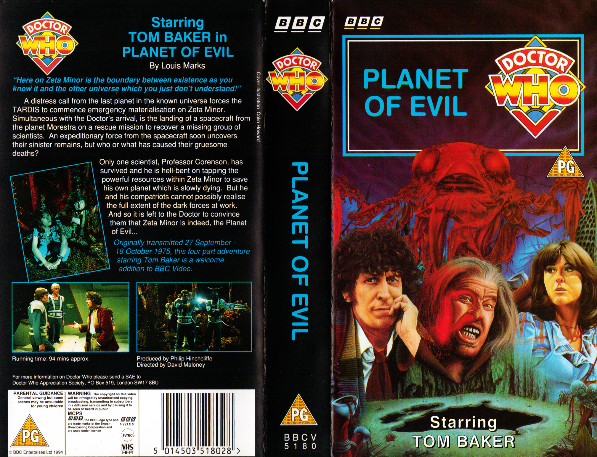 Planet of Evil VHS