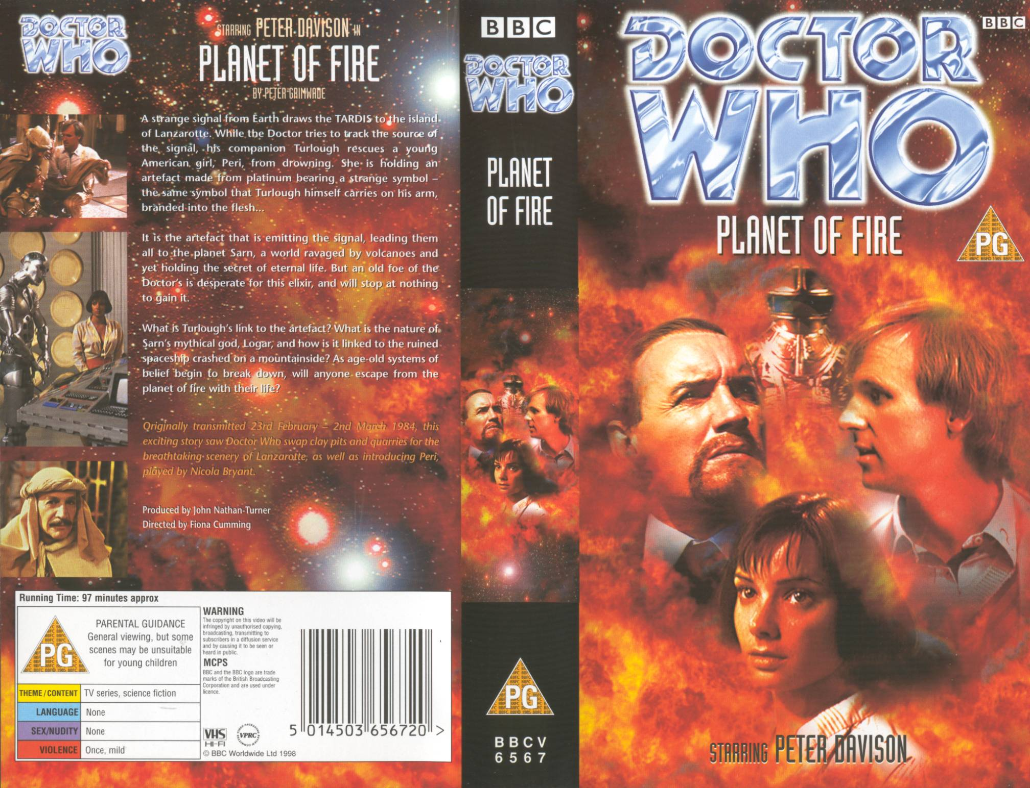 Planet Of Fire VHS