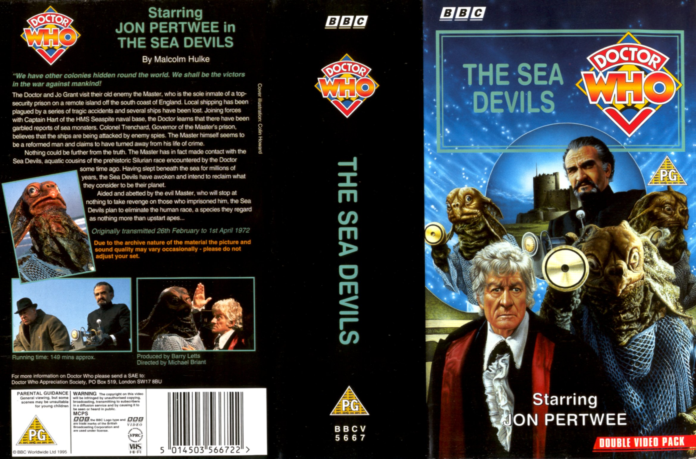 The Sea Devils VHS