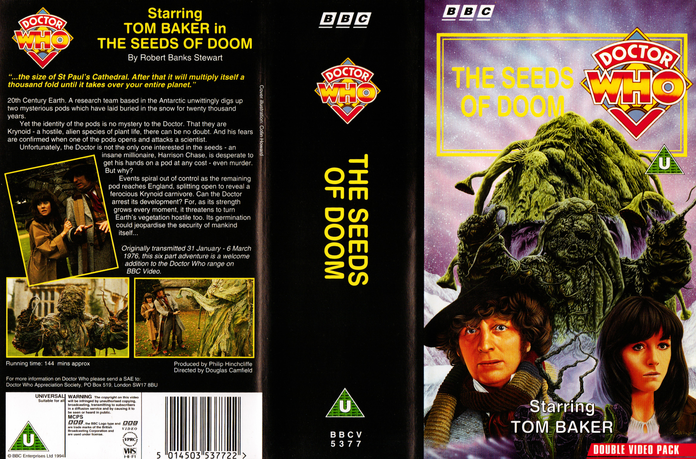 The Seeds of Doom VHS