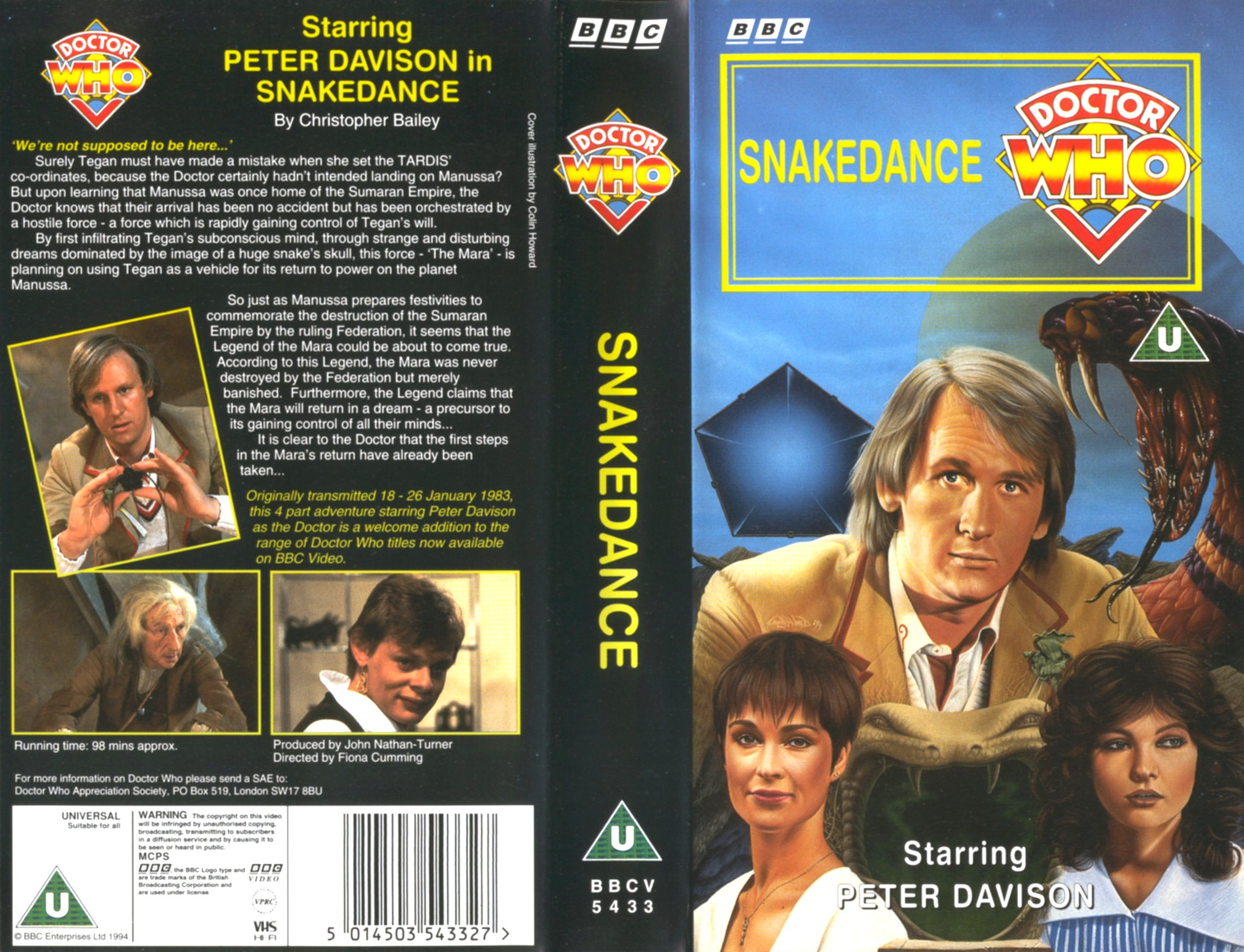 Snakedance VHS