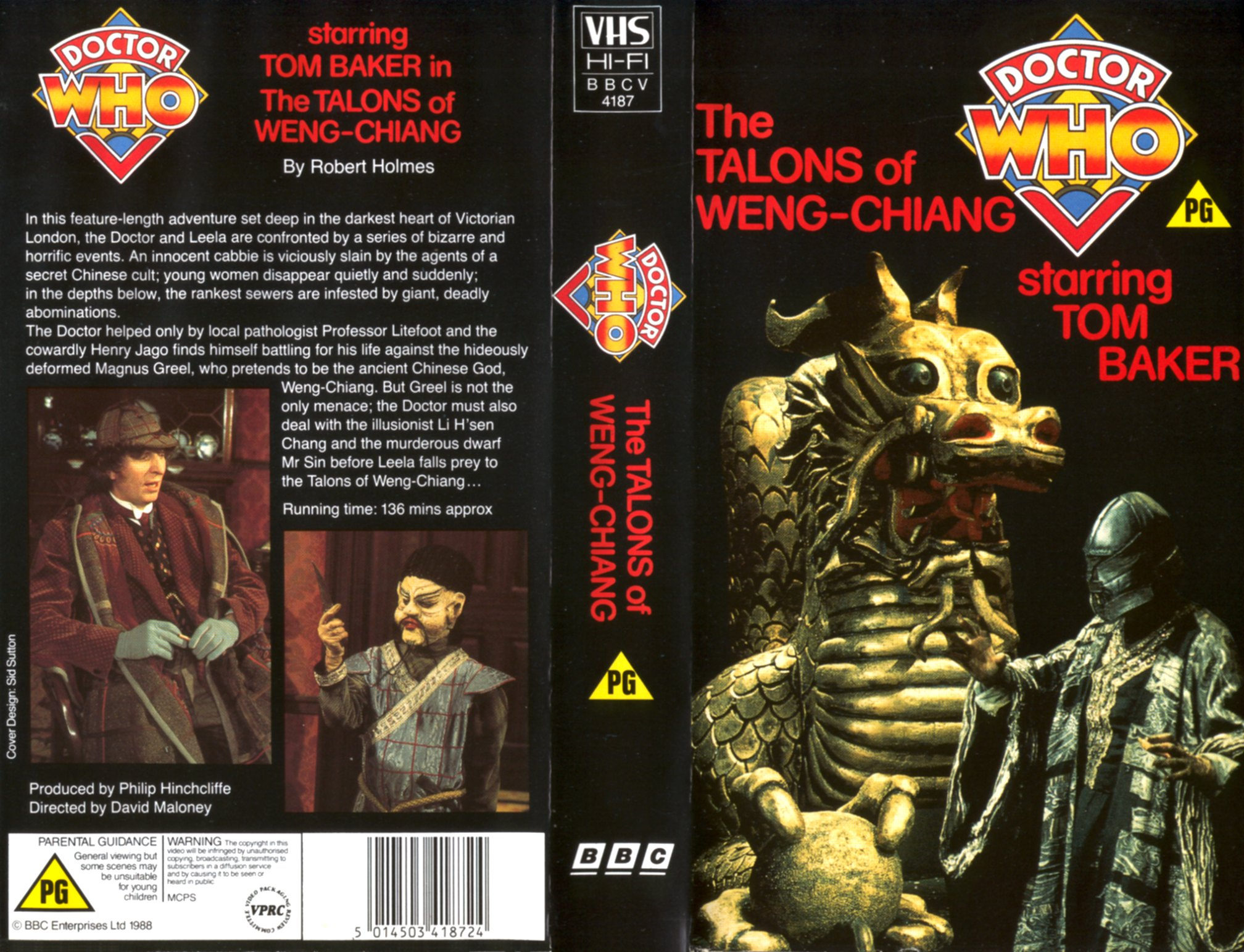 The Talons of Weng-Chiang VHS