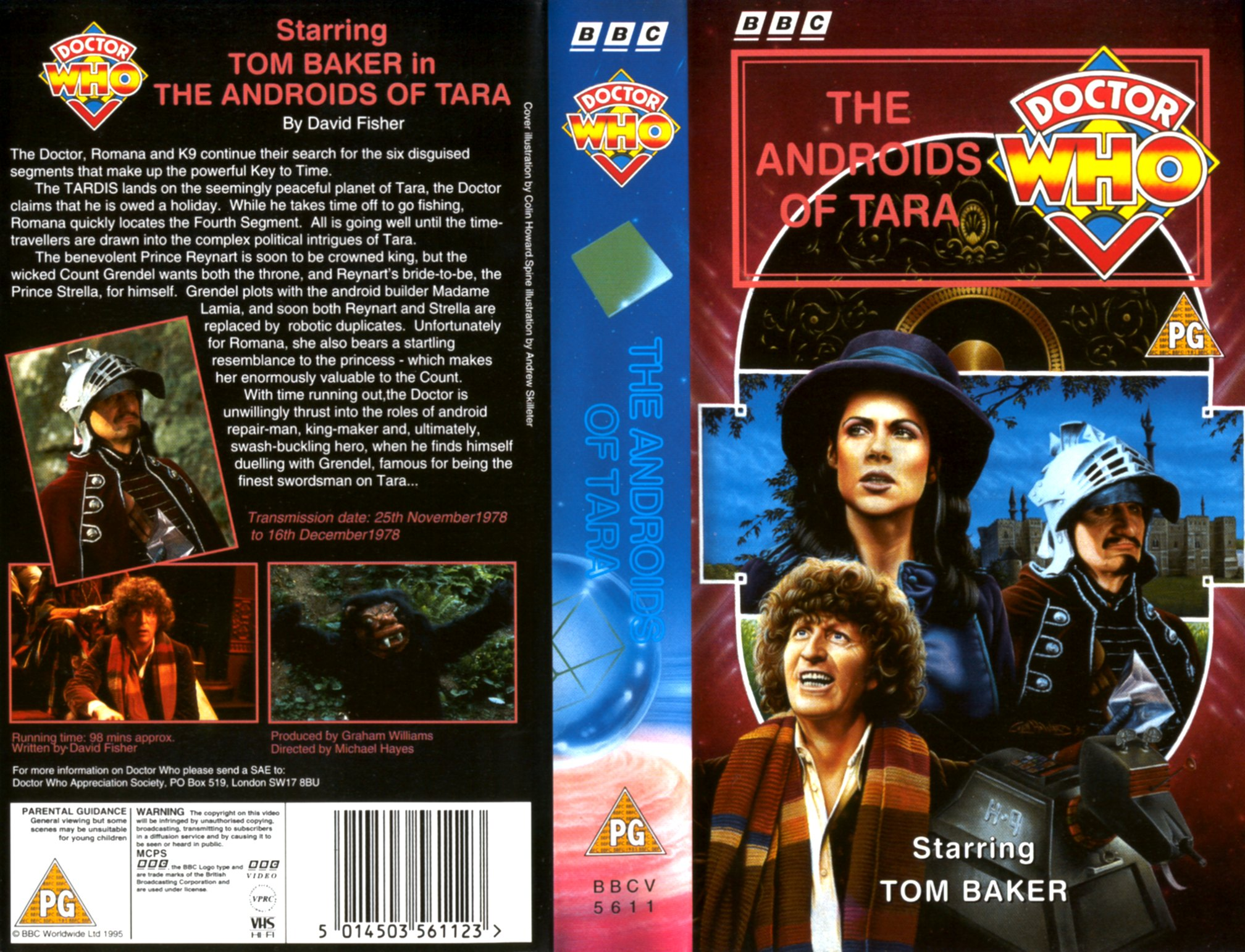 The Androids Of Tara VHS