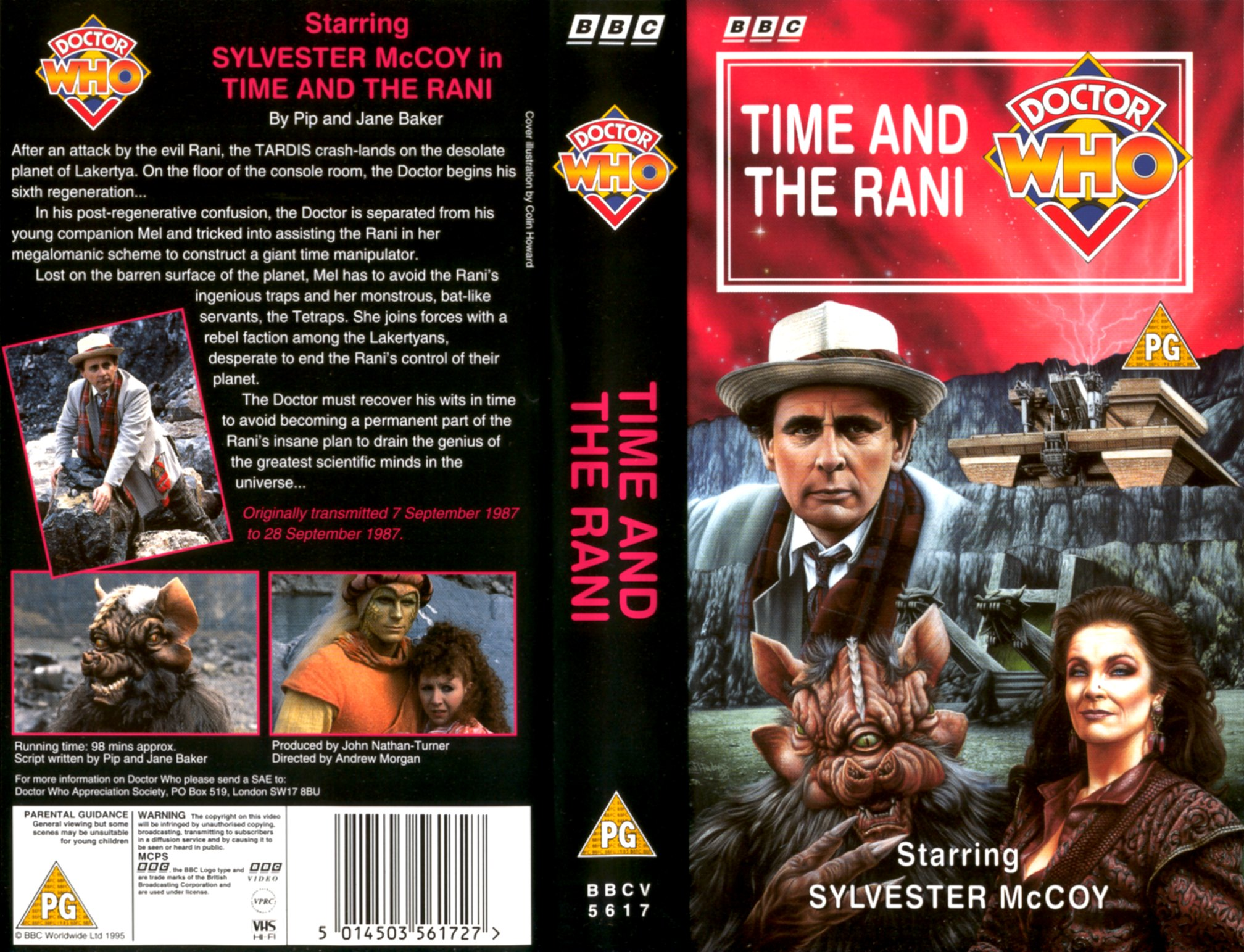 Time and the Rani VHS