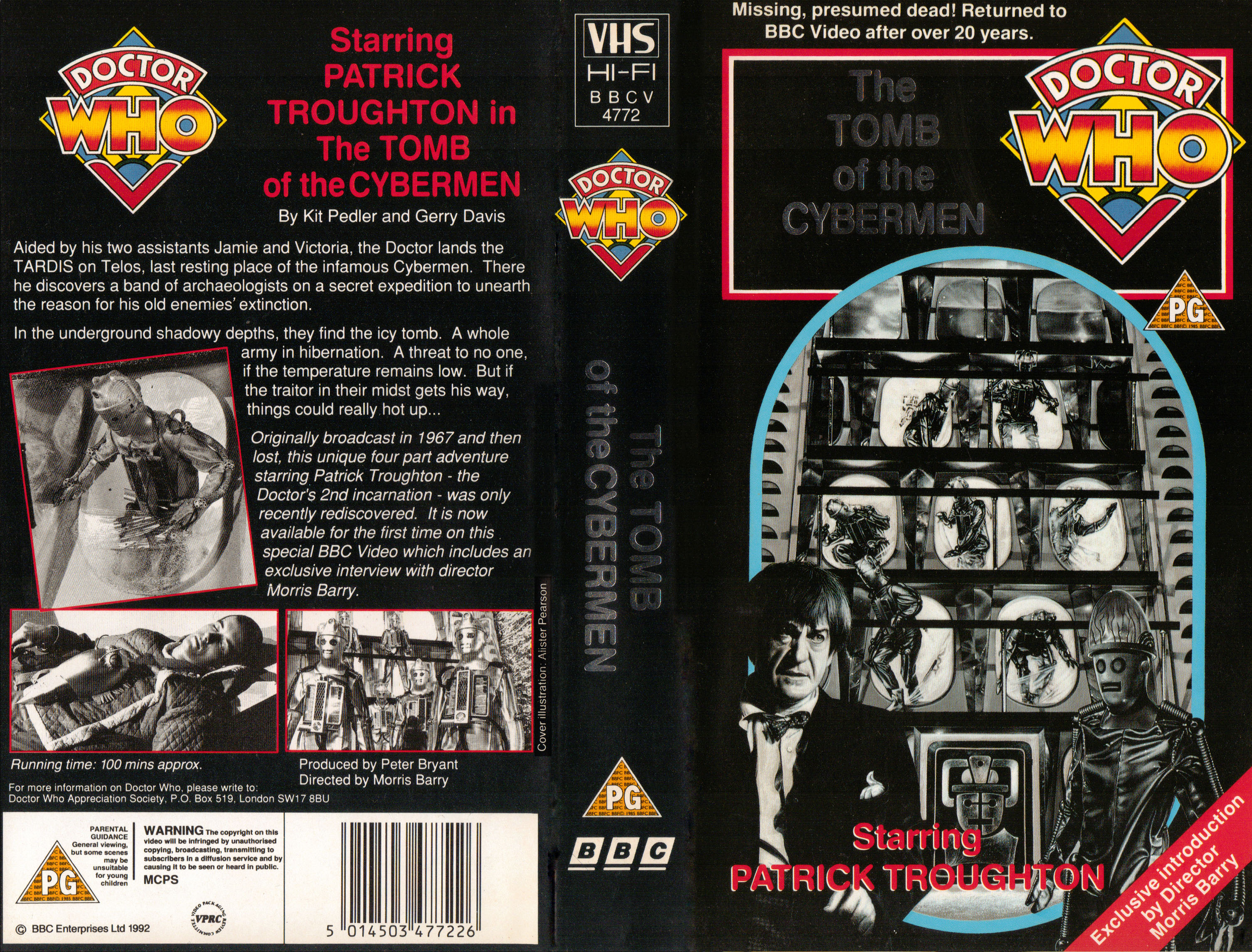 Tomb of the Cybermen VHS