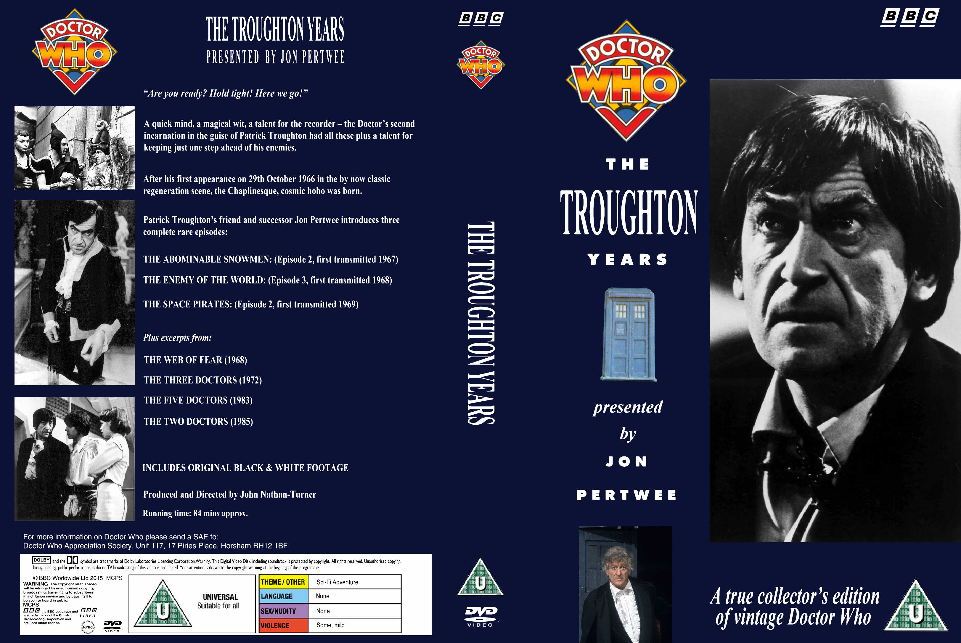 The Troughton Years VHS