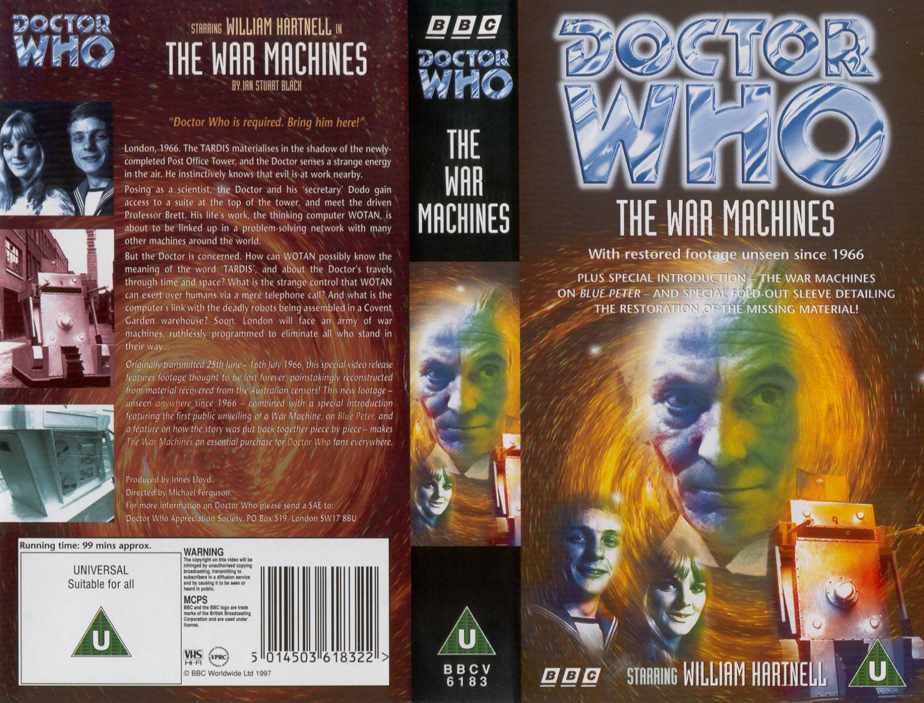 The War Machines VHS