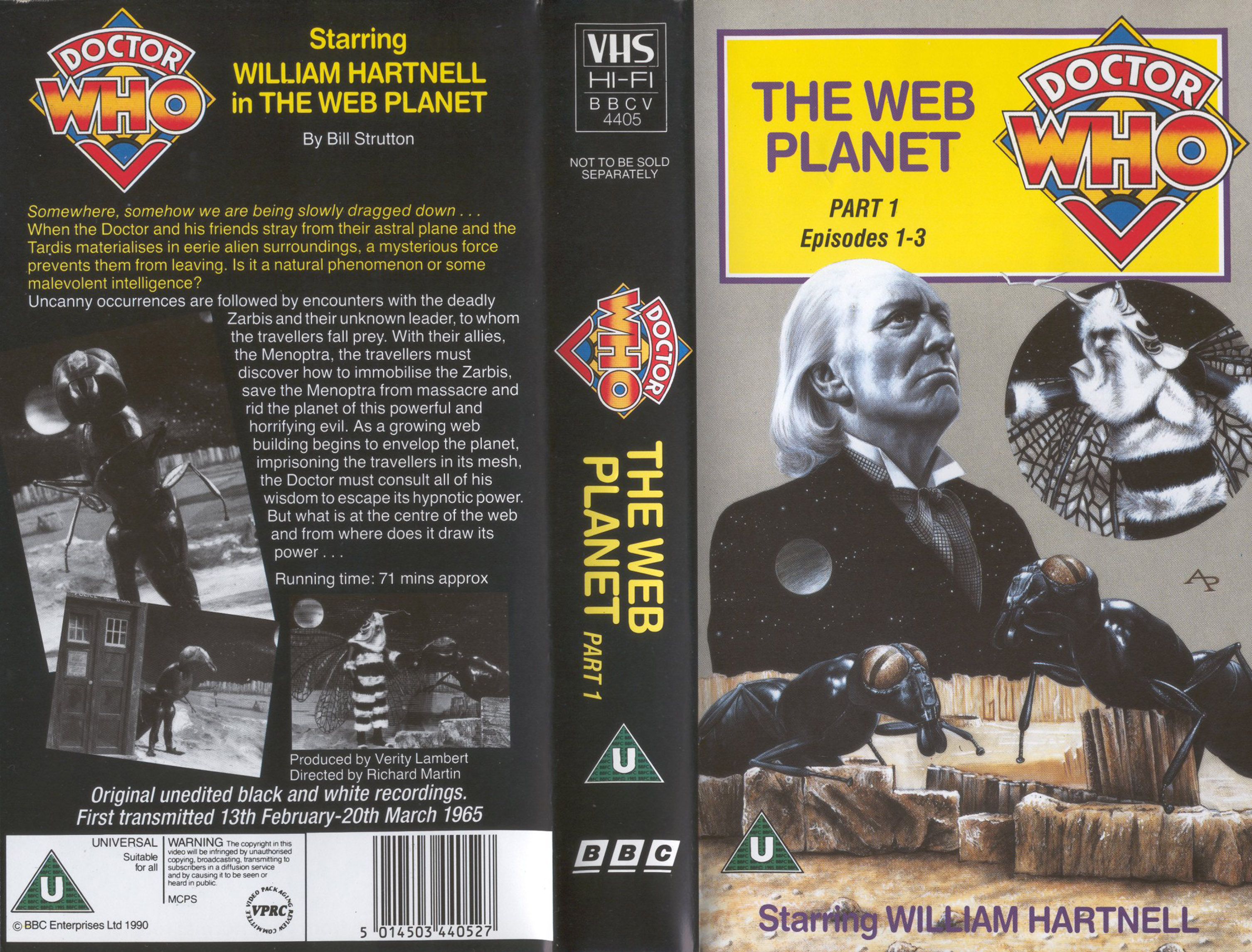The Web Planet VHS