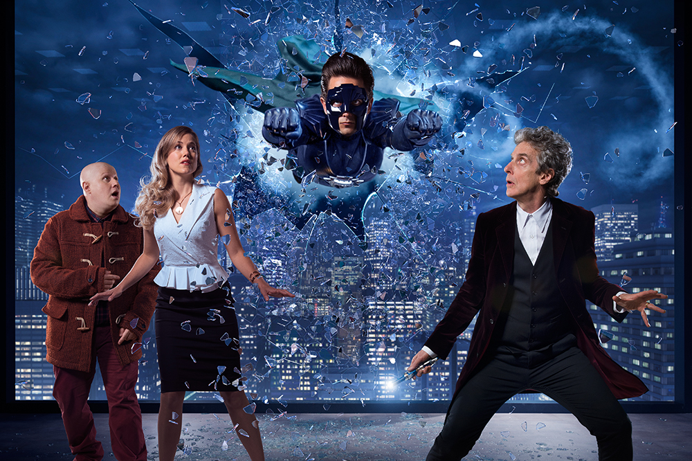 Christmas poster The Return of Doctor Mysterio